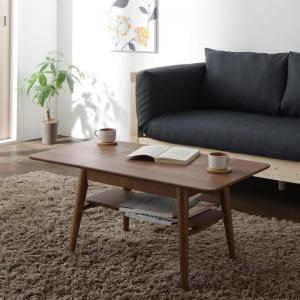 ●ポイント6.5倍●16色から選べる 伸縮・伸長式北欧天然木すのこソファベッド Exii エグジー テーブル W60-90[1D][00]