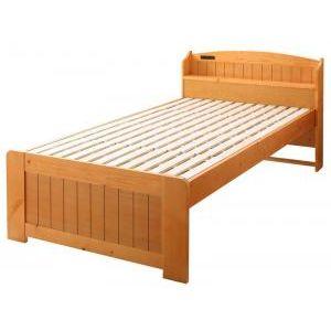 ●ポイント4.5倍●高さ調節できて長く使える ショート丈コンパクトすのこベッド 棚・コンセント付き beffy ベフィ セミシングル ショート丈[1D][00]