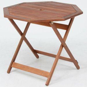 ●ポイント5倍●八角テーブル 90cm GT04FB 【代引不可】 [09]