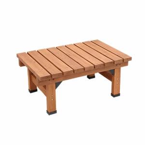 ●ポイント4.5倍●デッキ縁台 90×58【送料無料 木製 ステップ 天然木製 ウッドデッキ ガーデンベンチ ガーデンチェア 庭】[22]