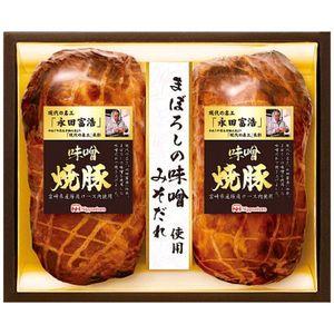 お得セット 日本ハム こだわり味噌だれの焼豚 MBP-50 大好評です 24 産直