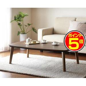 ●ポイント5倍●ナチュラルデザイン シンプルこたつテーブル【Banale】バナーレ/長方形(120×80) [00]