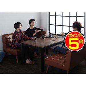 ●ポイント5倍●継脚で高さを四段階 古木風ヴィンテージデザインこたつテーブル Imagiwood イマジウッド 長方形(75×105cm)[00]