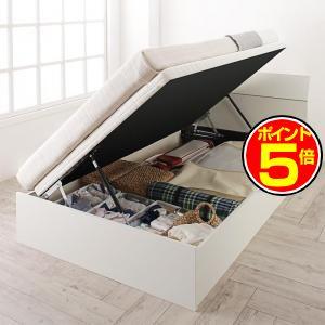 ●ポイント5倍●ホワイトデザイン大容量収納跳ね上げベッド WEISEL ヴァイゼル 薄型スタンダードボンネルコイルマットレス付き 横開き セミシングル 深さラージ[L][00]