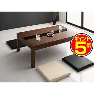 ●ポイント5倍●ワイドサイズ アーバンモダンデザインこたつテーブル GWILT-WIDE グウィルトワイド 4尺長方形(80×120cm)[00]