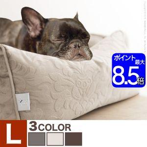 ●ポイント8倍●ペット ベッド ドルチェ Lサイズ タオル付き ペット用品 カドラー ソファタイプ【代引不可】 [11]