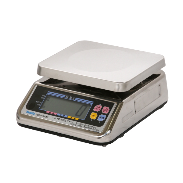 ヤマト 完全防水型 デジタル 上皿 自動はかり 秤 UDS-1VII-WP-3 3kg 取引証明用