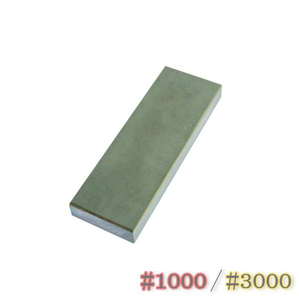 超硬度のダイヤモンド!どんな難削材でもスピーディに研磨 ダイヤモンド砥石 両面 #1000&#3000 包丁研ぎ 送料無料