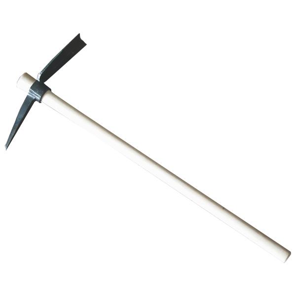 土佐の職人造りの本格十字鍬! 十字鍬 390mm 柄900mm (十字ぐわ つるはし)