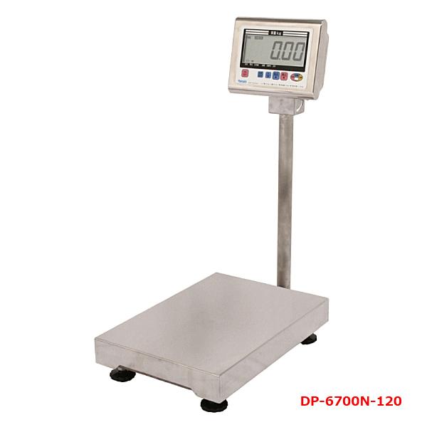 防水型 デジタル台はかり 検定なし120kg 業務用台秤 ヤマト DP-6700N-120