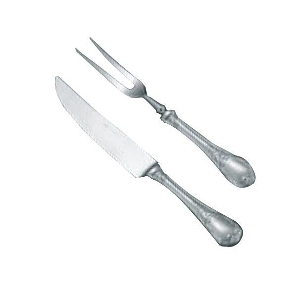 カービングナイフ ミートフォーク セット ブローニュ オールステンレス