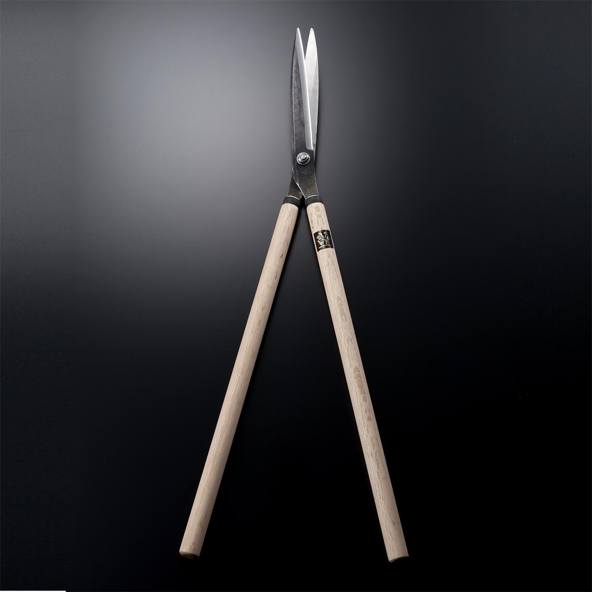 特上刈込鋏 止型 240mm 庭師 プロ向け (手造り刈込みばさみ 刈り込みばさみ)