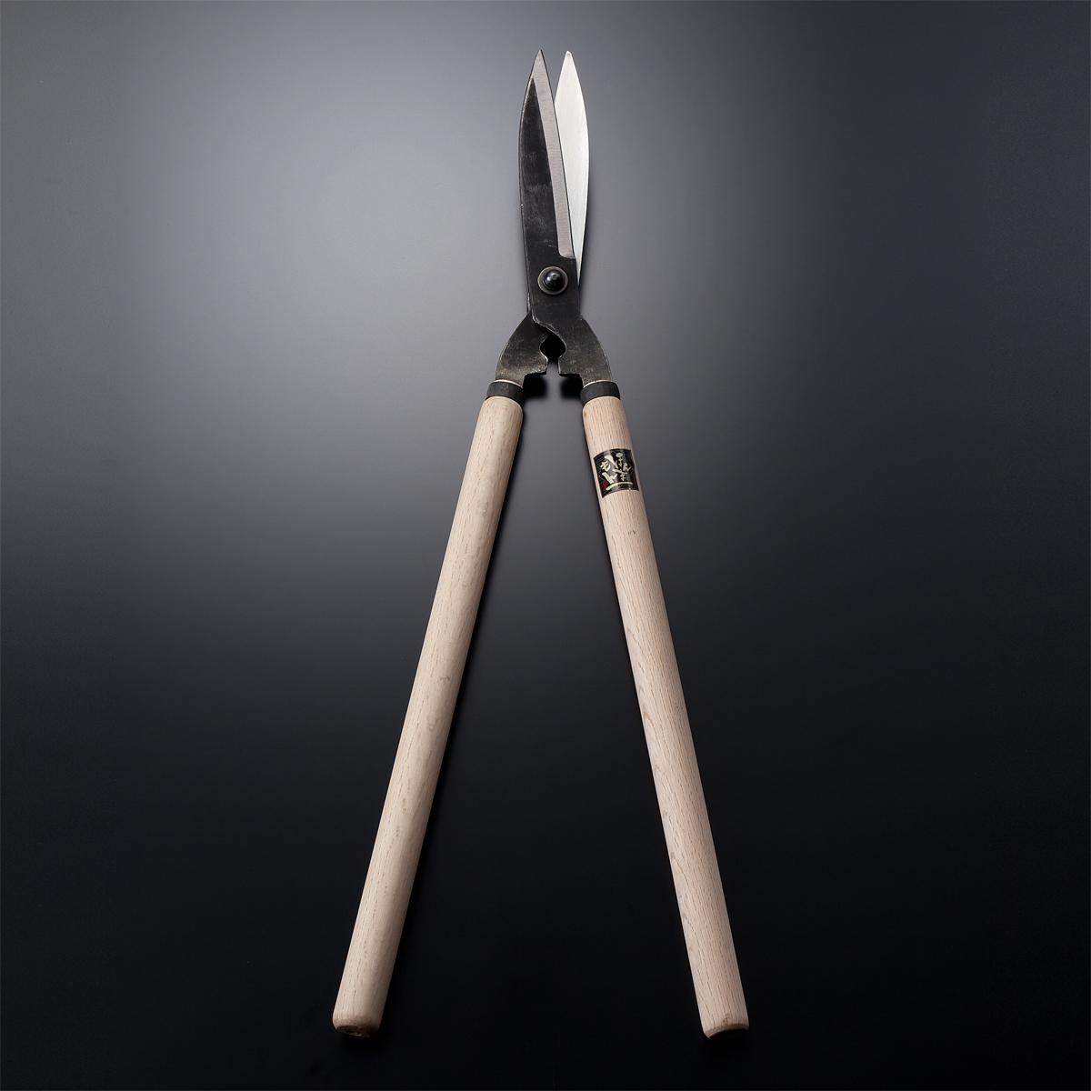 本職用 特上刈込鋏 厚口止型165mm太柄 刈り込みバサミ 【送料無料】