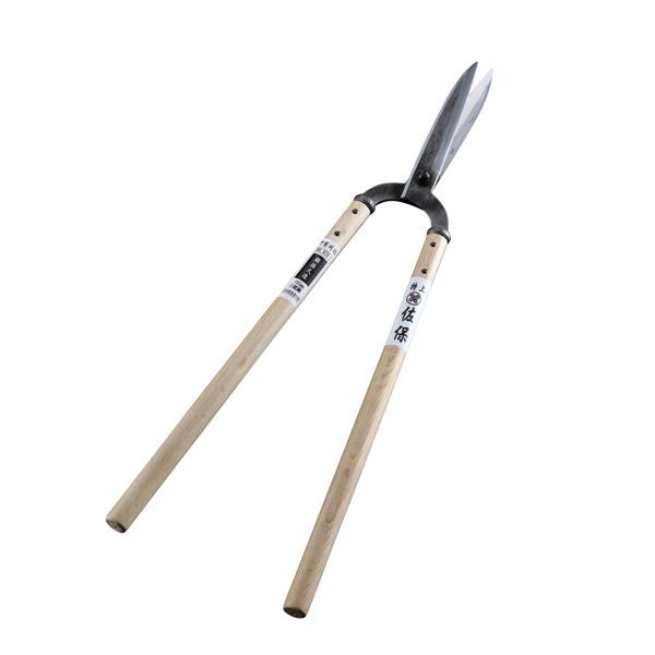 佐保 鍛接火造門型 刈込鋏 白紙鋼195mm (刈り込みばさみ 刈込みばさみ 刈りこみバサミ)