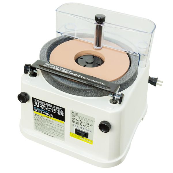 新興ホームスカッターSTD-180E キング丸砥石 中砥#1000付 電動 刃物研磨機