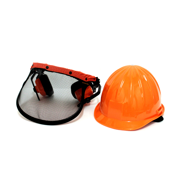 刈払い作業・チェーンソー用プロテクター(ヘルメット)
