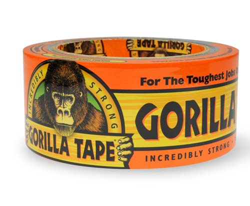 ★THE GORILLA GLUE COMPANY ザ ゴリラ グルー カンパニー★ワイドブラックゴリラテープ(7.3CM×27M) MADE IN USA