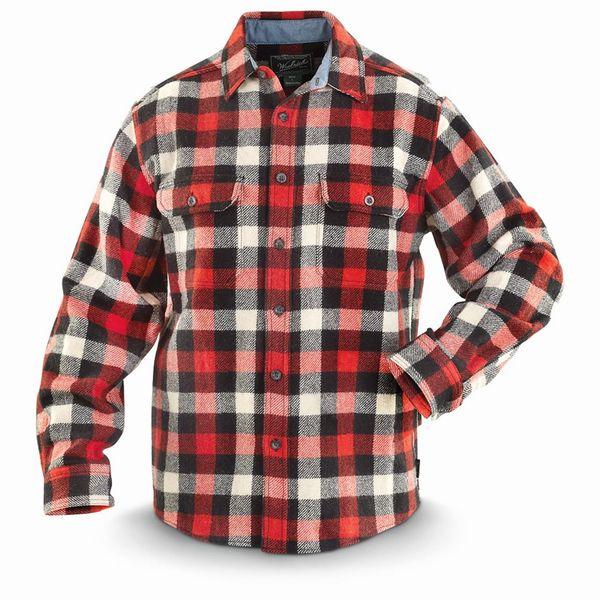 ★WOOLRICHウールリッチ★#6135 ウールオリジナルバッファローチェックシャツ 【送料無料】
