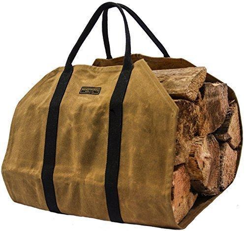 ★READYWARESレディウェアズ★ワックスキャンバスファイヤーウッドキャリアー(薪運搬用バッグ)