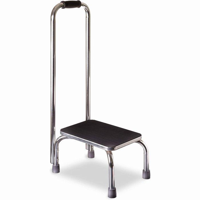 ★DMIディーエムアイ★ハンドルステップ(耐荷重136kgの手すり付き安全踏み台)