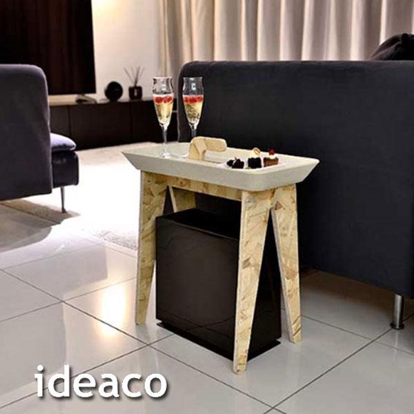 トレイとしても使えるテーブル!ideaco Tiny Walk(タイニーウォーク)