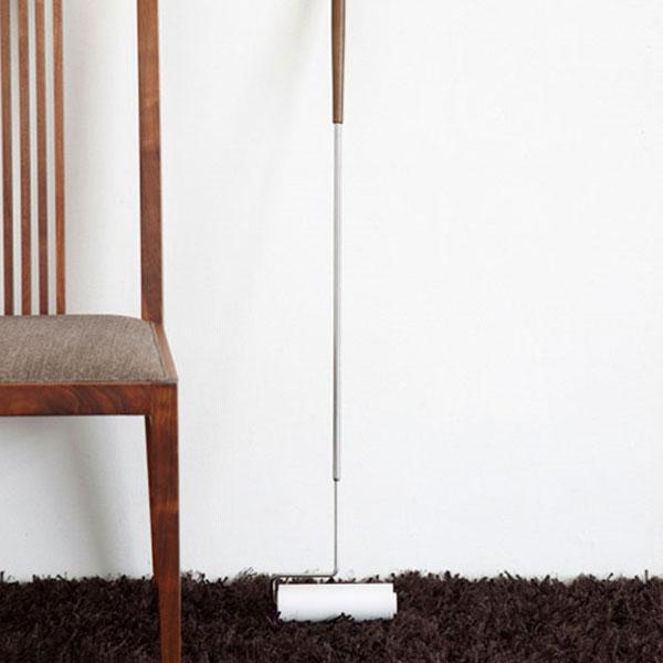 インテリアになじむ美しいデザイン Floor Rollcleaner(フロアロールクリーナー) 【ロールクリーナー】【コロコロ】【掃除】【木製】【掃除用具】