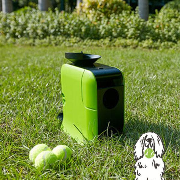 ボールが飛び出す新感覚のワンちゃん用おもちゃ! DOT PET LAUNCHER(ドットペットランチャー)【ペット用おもちゃ ボール投げ キャッチボール ペット商品】