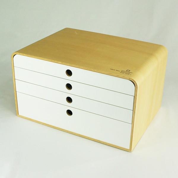 美しい日本の工芸 A4 FILE CASE 4段 【A4ファイルケース】【4段】【ファイルケース】【引き出し】【収納】【木製】【ヤマトジャパン】【ヤマト工芸】【小物収納】