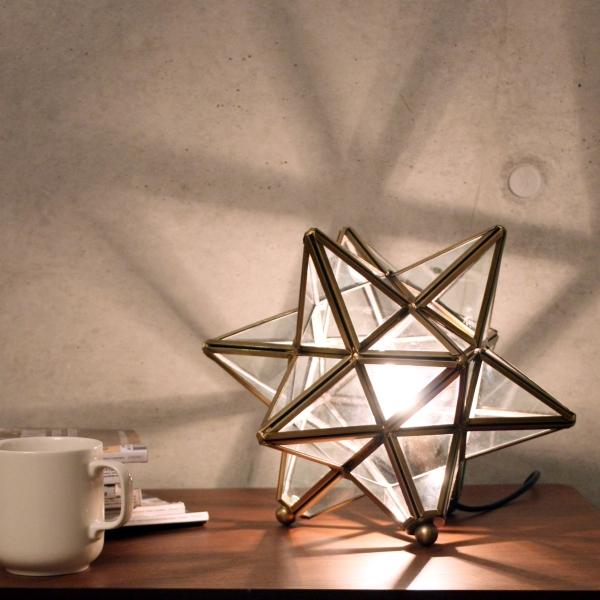 星を象ったテーブル照明! Etoile(エトワール)table lamp