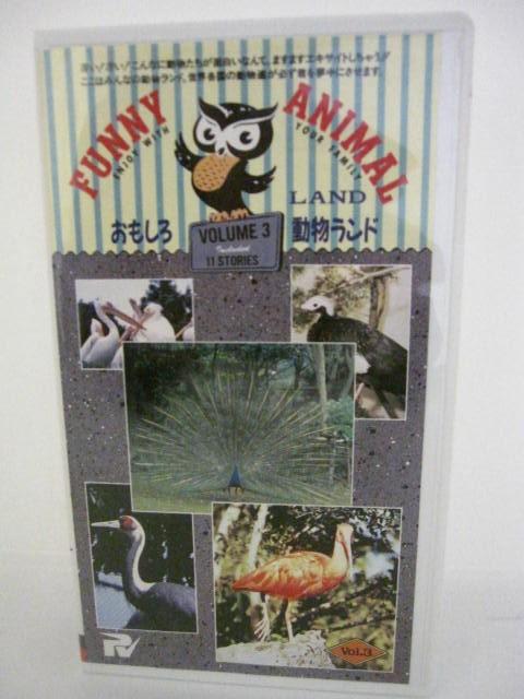 H5 09975 お気に入 中古 VHSビデオ おのしろ動物ランド3 1 他 クジャク2 在庫一掃売り切りセール 白鳥 鶴 3