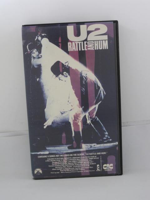 H5 10426 中古 出群 VHSビデオ 70%OFFアウトレット 字幕版 魂の叫び U2