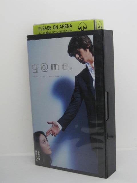 H5 10515【中古・VHSビデオ】「g@mo」監督:井坂聡 CAST;藤木直人/仲間由紀恵 他。