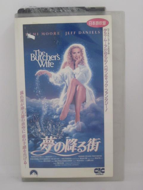 贈与 H5 12571 中古 VHSビデオ 夢の降る街 日本語吹替版 テリー ヒューズ ムーア デミ ダニエルズ ジェフ 通常便なら送料無料
