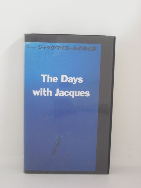 H5 13797 中古 VHSビデオ ジャック マイヨールの海と夢 ルーリー マイヨール クジラと南の海を潜る 音楽:ジョン イルカ 在庫処分 出演:ジャック セール特別価格