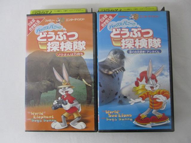 HVS00658 送料無料 中古 VHSビデオセット どうぶつ探検隊 日本語吹き替え版 絶品 2本セット 売買