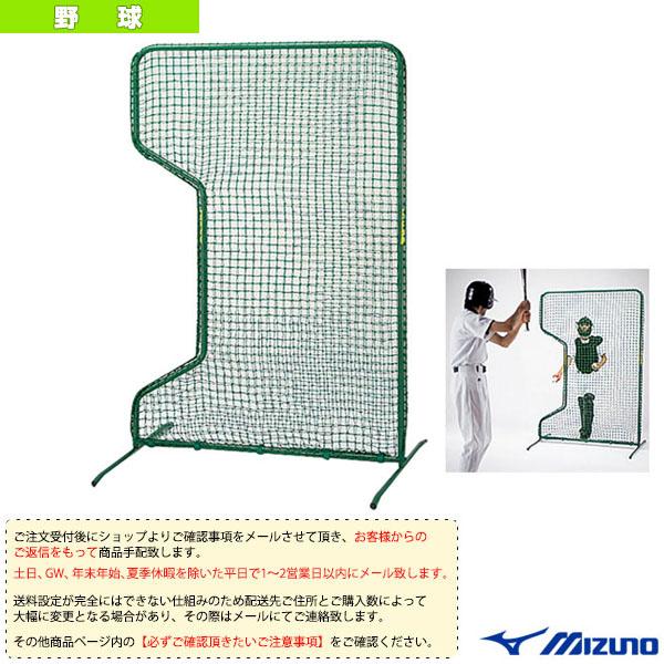 [送料お見積り]ティーバッティング練習用防御ダブルネット(1GJNA40100)『野球 設備・備品 ミズノ』