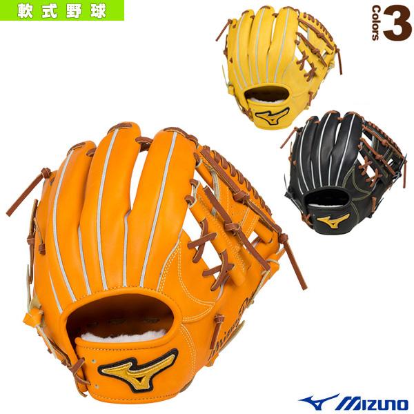 ミズノプロ フィンガーコアテクノロジー/軟式・内野手(4/6)用グラブ/ポケット正面タイプ(1AJGR16013)『軟式野球 グローブ ミズノ』