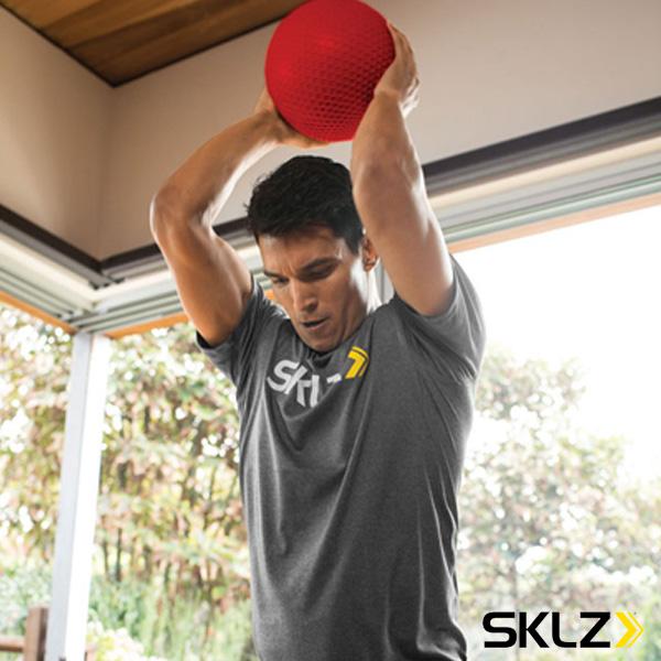 MED BALL 10lb/メディシンボール/4.5kg(028983)『オールスポーツ トレーニング用品 スキルズ』