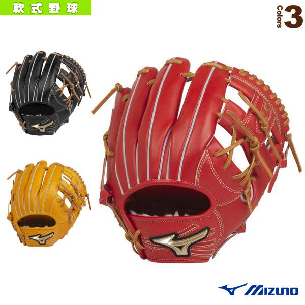 グローバルエリート H Selection 02+プラス/軟式・内野手用グラブ/ポケット正面タイプ(1AJGR22403)『軟式野球 グローブ ミズノ』