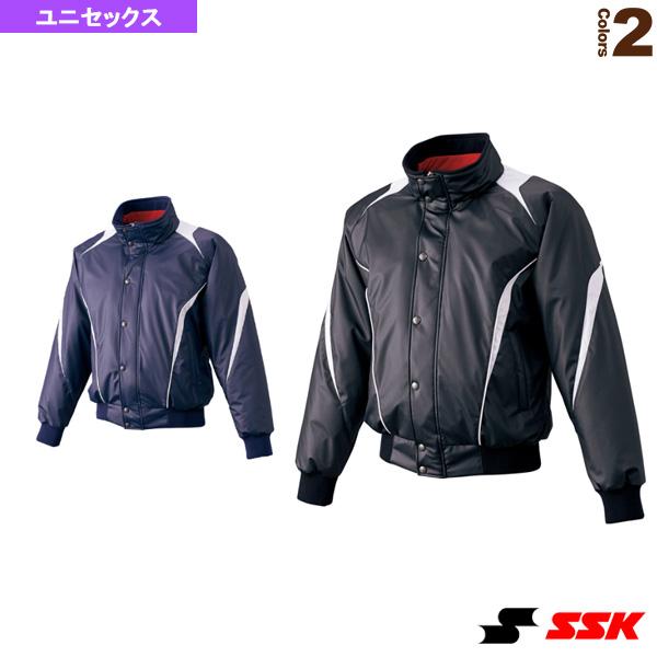 蓄熱グラウンドコート/フロントフルZIP+ボタン比翼付き/中綿(BWG1007)『野球 ウェア(メンズ/ユニ) エスエスケイ』