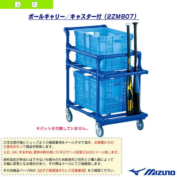 [送料お見積り]ボールキャリー/キャスター付(2ZM807)『野球 設備・備品 ミズノ』