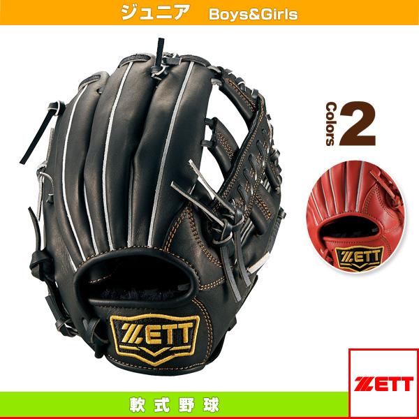 グラウンドヒーローライジングシリーズ/少年軟式グラブ/オールラウンド用/Mサイズ(BJGB71620)『軟式野球 グローブ ゼット』
