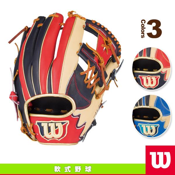[威尔逊棒球手套] 崇拜英雄 / 一般为抓取 / 内场手 (WTARHP5WH)