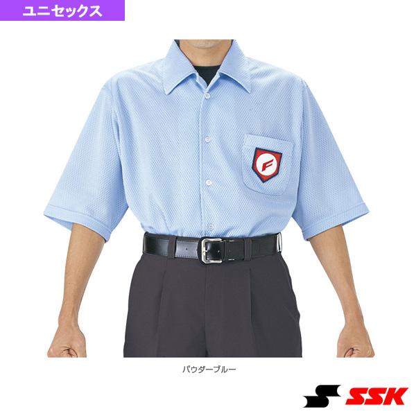審判用半袖メッシュシャツ/夏モデル(UPW014)『野球 ウェア(メンズ/ユニ) エスエスケイ』