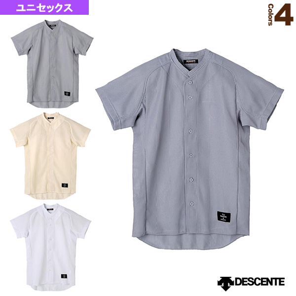 立衿フルオープンシャツ/レギュラーシルエット/試合用ユニフォームシャツ(STD-51TA)『野球 ウェア(メンズ/ユニ) デサント』