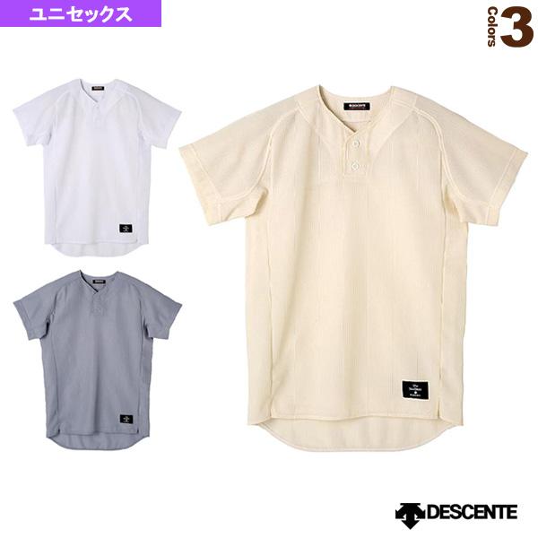 ハーフボタンシャツ/レギュラーシルエット/試合用ユニフォームシャツ(STD-52TA)『野球 ウェア(メンズ/ユニ) デサント』