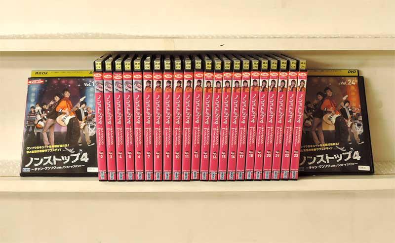ノンストップ4 ~チャン・グンソクwithノンストップバンド~ 1~24 (全24枚)(全巻セットDVD) [字幕]|中古DVD【中古】