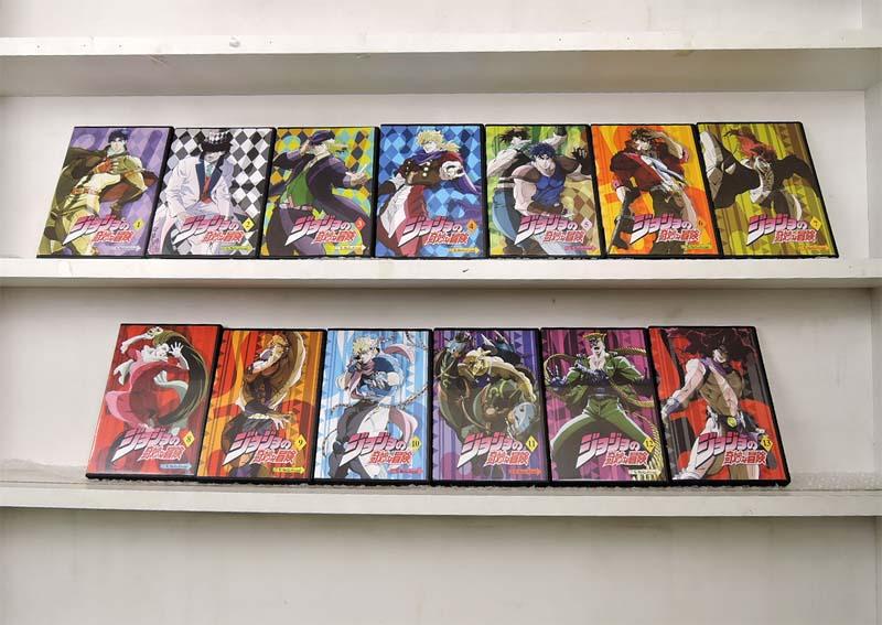 ジョジョの奇妙な冒険 1~13 (全13枚)(全巻セットDVD)|中古DVD【中古】