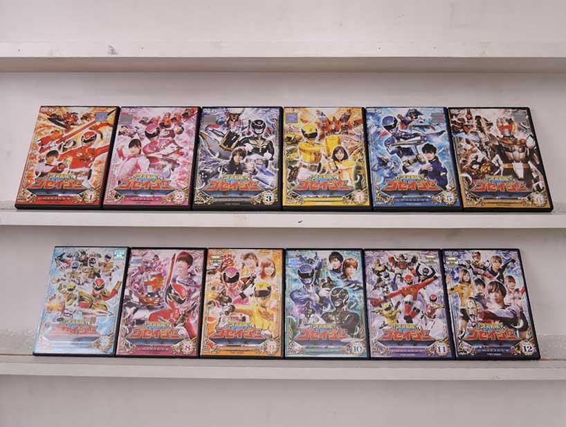 (A)天装戦隊ゴセイジャー 1~12 (全12枚)(全巻セットDVD)|中古DVD【中古】