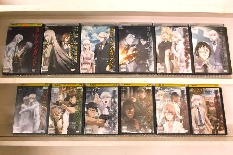 ヨルムンガンド 1期+2期セット 1~12 (全12枚)(全巻セットDVD)|中古DVD【中古】